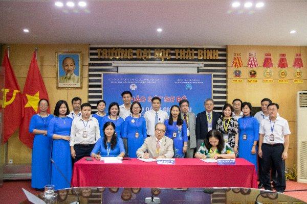 Đoàn chuyên gia đánh giá ngoài cơ sở giáo dục đại học khảo sát sơ bộ tại Trường Đại học Thái Bình